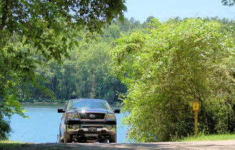 Furys ferry boat ramp for Sumter national forest cabins